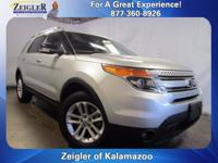 Recent Arrival! 2015 Ford Explorer XLT Silver **ONE
