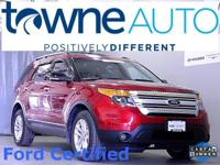 2015 Ford Explorer XLT, Ford Certified, 6 cyl 3.5L