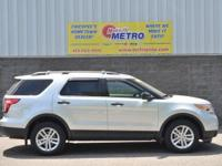 Clean CARFAX. Magnetic Metallic 2015 Ford Explorer