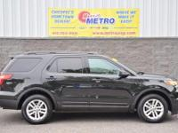 2015 Ford Explorer Base.  In Tuxedo Black Metallic,