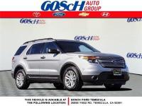CARFAX One-Owner. Silver 2015 Ford Explorer FWD 6-Speed