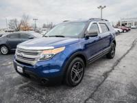 Deep Impact Blue Metallic 2015 Ford Explorer EXPLORER