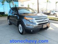 2015 Ford Explorer XLT 6-Speed Automatic with
