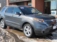 Certified Ford Explorer Limited-AWD HEATED LEATHER