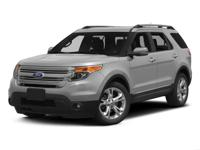 Climb inside the 2015 Ford Explorer! Packed with