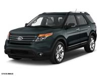 This Dark Side Metallic 2015 Ford Explorer Limited