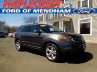 *2015 CERTIFIED PRE OWNED EXPLORER*CARFAX One-Owner.