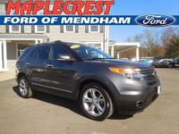 *CERTIFIED PRE OWNED 2015 LIMITED EXPLORER*CARFAX