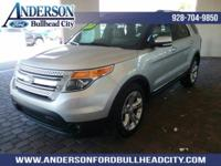 New Price! Silver 2015 Ford Explorer Limited FWD