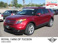 Check out this one owner 2015 Ford Explorer Limited.
