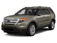 Take command of the road in the 2015 Ford Explorer! It
