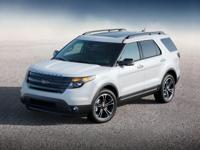 White 2015 Ford Explorer Sport AWD 6-Speed Automatic