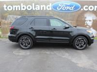2015 Ford Explorer Sport Tuxedo Black Metallic Odometer