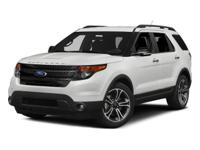 AWD, FORD CERTIFIED, 2015 Ford ExplorerSport in Ingot