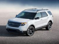 Recent Arrival! 2015 Ford Explorer Sport White Platinum