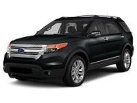 Extended Ford Certified Warranty, 4WD, Black Leather