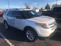New Price! 2015 Ford Explorer XLT Oxford White CARFAX