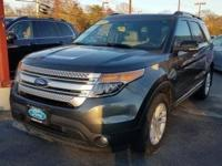 Magnetic Metallic 2015 Ford Explorer XLT AWD 6-Speed