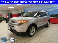 ONE OWNER. Explorer XLT and AWD. Call us now! Switch to