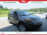 New Price! 2015 Ford Explorer XLT in Magnetic Metallic.
