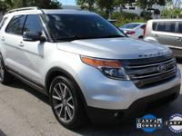 Explorer XLT w/Navigation and Ingot Silver Metallic.