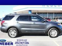 2015 Ford Explorer XLT Magnetic FWD 6-Speed Automatic