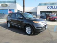 2015 Ford Explorer XLT in Tuxedo Black and CARFAX ONE