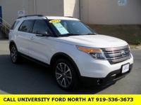 CARFAX One-Owner. Clean CARFAX. 2015 Ford Explorer XLT