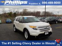 Options:  2015 Ford Explorer Xlt|White|Call Us Now! In