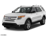 2015 White Ford Explorer XLT Ford Certified Pre-Owned