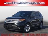 2015 Ford Explorer XLT in Black, This Explorer come