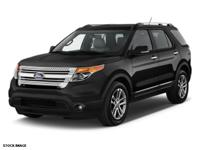 Recent Arrival! 2015 Ford Explorer XLT CARFAX