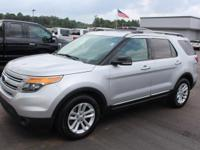 Bold and beautiful, this 2015 Ford Explorer is a