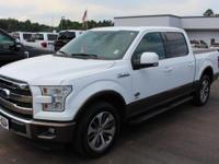 Solid and stately, this 2015 Ford F-150 represents a