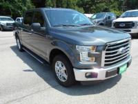 This 2015 Ford F-150 will haul the crew tow the load
