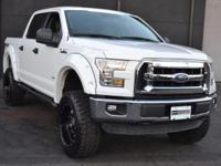 This 2015 Ford F-150 4dr - features a 3.5L TURBOCHARGED