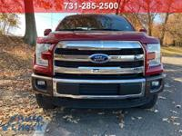 Ruby Red 2015 Ford F-150 King Ranch 4WD 6-Speed