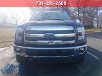 Black 2015 Ford F-150 4WD 6-Speed Automatic Electronic