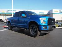 Come see this 2015 Ford F-150 Lariat. Its Automatic