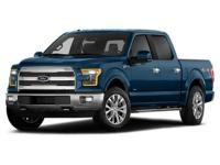 Take command of the road in the 2015 Ford F-150!