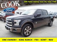 * ONE OWNER!! * - KING RANCH - FX4 - NAVIGATION - SONY
