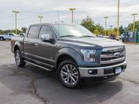 . Lariat trim. REDUCED FROM $41,299! EPA 23 MPG Hwy/18