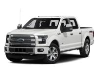 4WD, FORD CERTIFIED, 2015 Ford F-150King Ranch in Blue