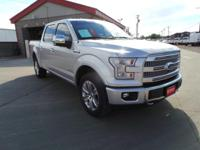 Platinum trim. EPA 21 MPG Hwy/15 MPG City! Moonroof,