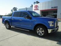 Blue 2015 Ford F-150 RWD 6-Speed Automatic Electronic