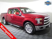2015 Ford F150 4X2 Lariat SuperCrew with a 5.0L V8