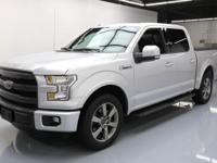 2015 Ford F-150 with EcoBoost 3.5L Turbocharged V6