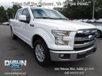 2015 FORD F150 LARIAT *BLUETOOTH MP3*, *STILL UNDER