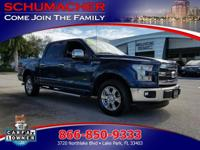 Options:  2015 Ford F-150 Lariat   Driver/Front