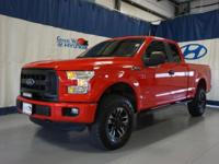 Just in this One Owner, No Accidents. 2015 Ford F150